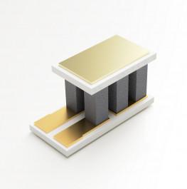 image of mini micro peltier TEC cooler module 00301-9X30-10RU2 shown