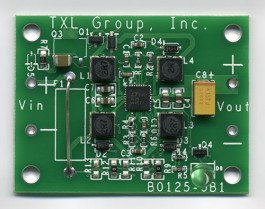 picture of ELC-BB905P0 buck-boost converter circuit board