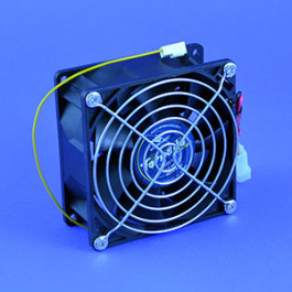 picture of 92 x 92mm fan 12 volt 110 cubic feet per minute