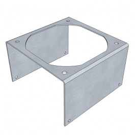 Heat Sink 92mm Fan Bracket