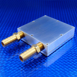 Water block WBA-3.0-0.90-AL-02 2nd Generation for liquid cooling