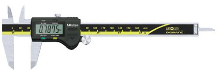 image of digital calipers used to measure TEC dimensions