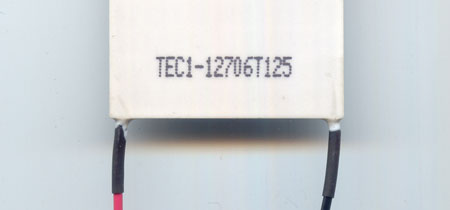 example of chinese part number printed on TE cooler